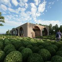 A normandiai golyóház lehet a jövő építészeti trendje