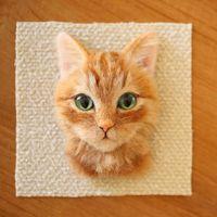 Élethű macskaportrék, honnan máshonnan, mint Japánból