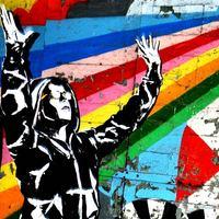 Élő graffitik