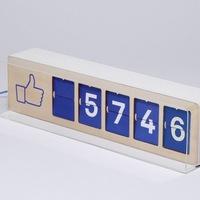 Facebook-rajongószámláló