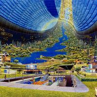 Emberi civilizáció az űrben - 40 éve ilyennek képzelték a jövőt