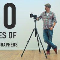 A fotósok 30 különböző típusa