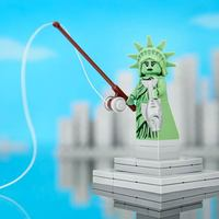 Az USA ötven tagállama LEGO-ból