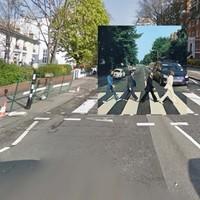 Kultikus lemezborítók a Google Street View-n