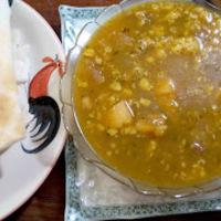 Burgonyás lencsefőzelék (Potato Lentil Pottage)