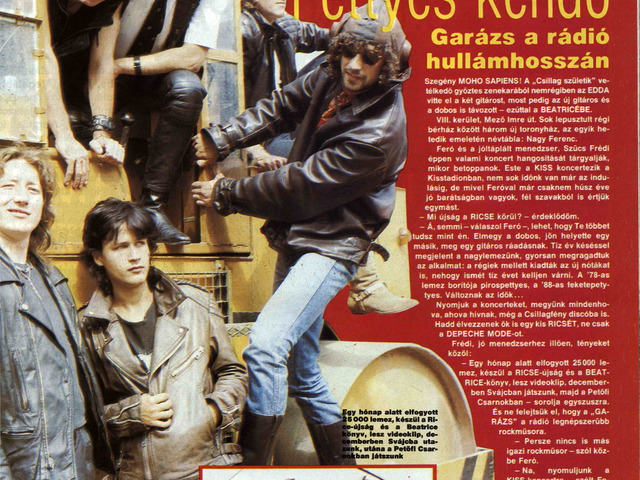PopExpressz interjú 1988 novemberéből