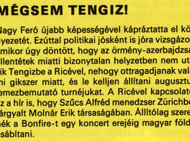Egy cikk 1988-ból