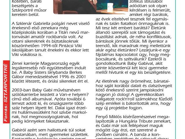 Baby Gabi (Baby Gabi - Hungarian Pop Singer)