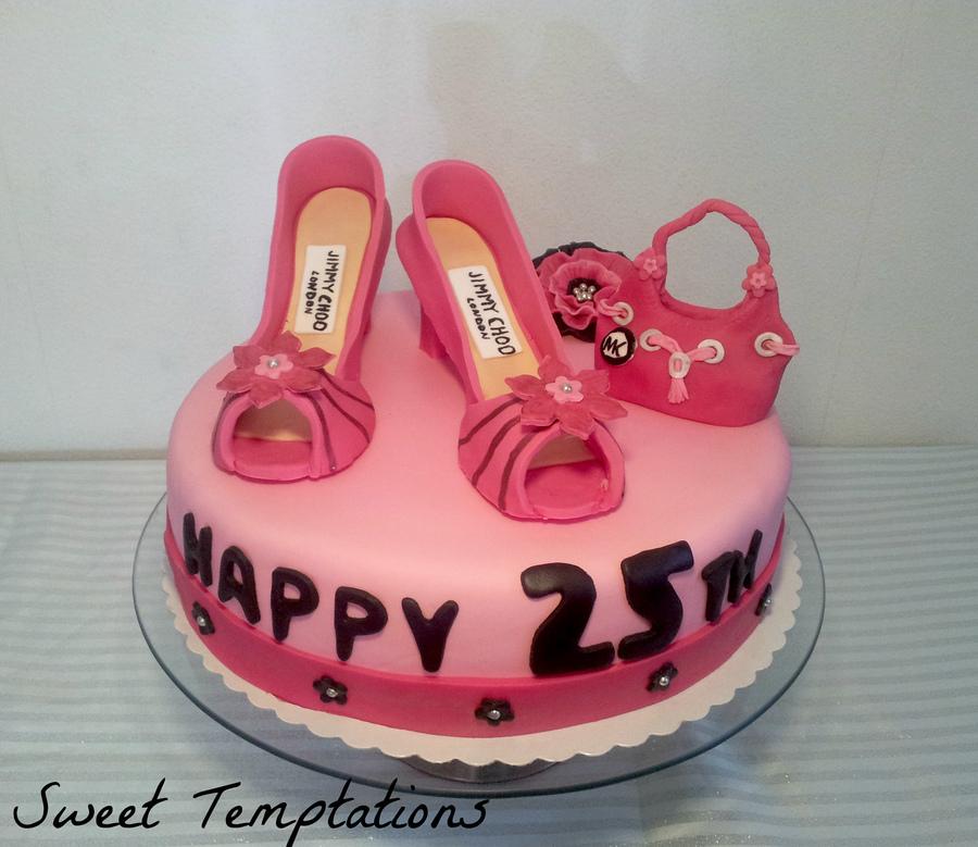 szülinapi torta 25 Cipők a tortán   Születésnapi Torták szülinapi torta 25