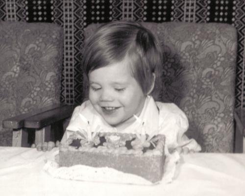 A 2. szülinapi torta