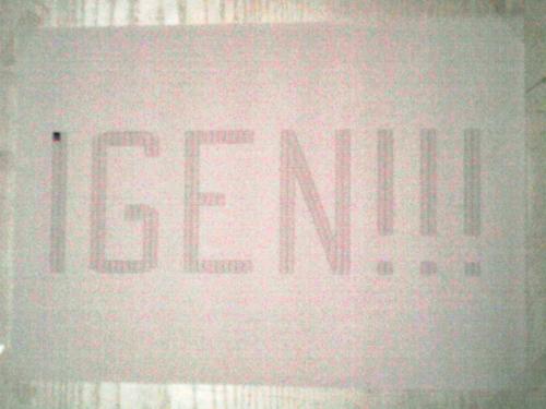 IGEN!!! - 2012. 12. 02.