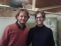 Rakonczay Gáborral a partnercégünk budapesti központjában