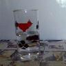 pohár, vízzel - fotó © 2011. Tylla