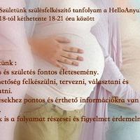 Szülésfelkészítő tanfolyam a HellóAnyu!-ban!