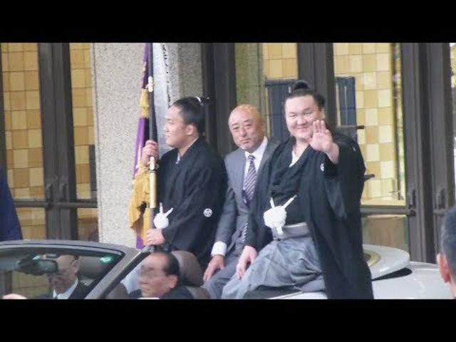 Hakuho győzelmi körmenete