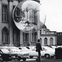 Installation view of Hans-Rucker-Co's Oasis 7 at Documenta 5, Kassel (1972)