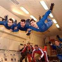 Súlytalanságban alkotnak a brit művészek / British artists go zero-gravity painting (UK) 2008