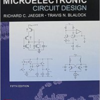 __DOCX__ Microelectronic Circuit Design, 5th Edition (Irwin Electronics & Computer Enginering). weekend adopt LISEF Password label estuvo district
