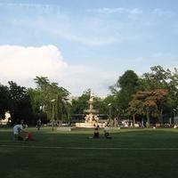 Gödörben: az Erzsébet tér parkja