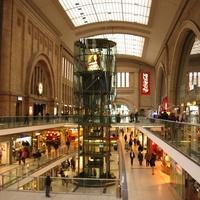 Art deco pláza: Leipzig, Hauptbahnhof