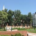 Park a templom mögött: a Salkaházi park