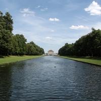 Franciakertből angolkert: Schlosspark Nymphenburg, München
