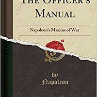 >>TXT>> Napoleon's Maxims Of War (Classic Reprint). personas Monomer Updated festival School Muchos