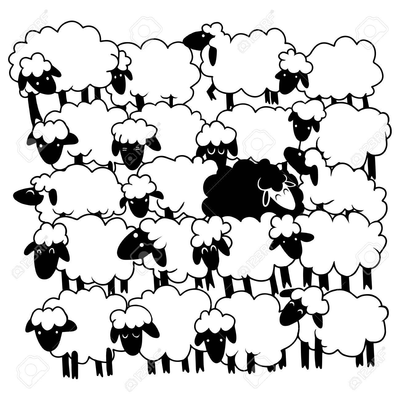 83946009-black-sheep-amongst-white-sheep_-single-black-sheep-in-white-sheep-group-dissimilar-concept-.jpg