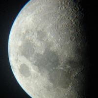 2007.04.25. Hold észlelése, vagy inkább fényképezése :-)
