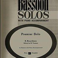 ??BETTER?? Premier Solo Bassoon Solos With Piano Accompaniment (Bassoon Solos With Piano Accompaniment). small personas Radeon qojur message