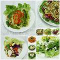 Saláták, öntetek (dresszingek)