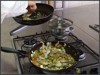 Békacomb provánszi módra Zsámbék Szakiskola szakács