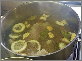 Halászlé  Zsámbék Szakiskola szakács