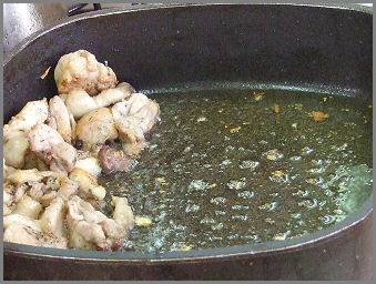 Halak (ponty)  konyhai  előkészítése, tisztítása Zsámbék Szakiskola szakács