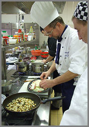 Cézár saláta Zsámbék Szakiskola szakács
