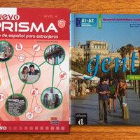 Két spanyol kurzuskönyv: Nuevo Prisma és Gente