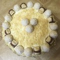 Rafaello torta házilag