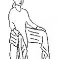 Keresztkötés hordozókendővel