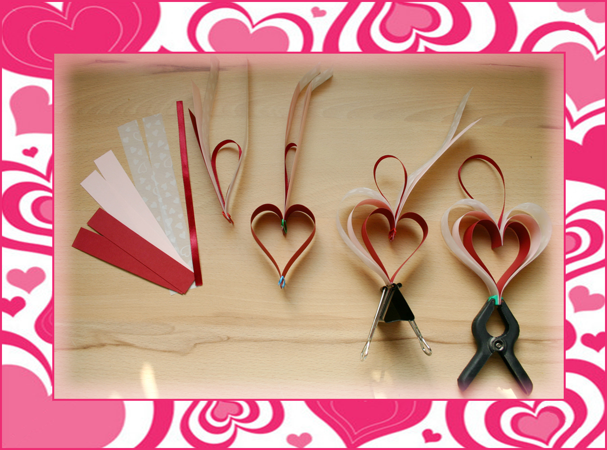 Szív készítése papírból