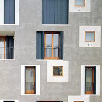 Cino Zucchi: lakóház Guidecca szigetén (Velence, 2002)