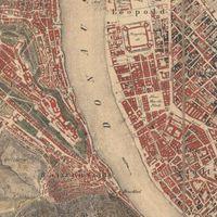 Budapest történeti térképeken - és a Google Maps-en