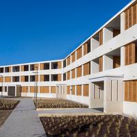 Szociális lakások KŐBŐL - Perraudin Architecture