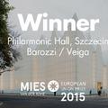 Filharmónia, Szczecin - Mies Award 2015