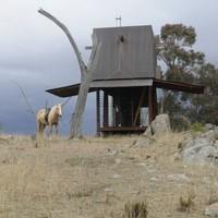 Egyszemélyes kemping Ausztráliában