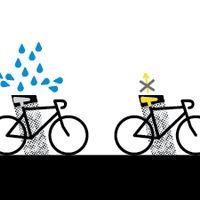 Biciklitároló a Műcsarnoknál
