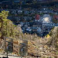 Tükörrel fényt lopni (Rjukan, Norvégia)