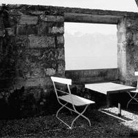Le Corbusier Vevey villájának kerti fala (Hertzberger)