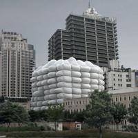Buborékház - terv Kínába