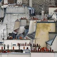 Párizsi háztetők (Michael Wolf fotói)