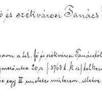 Mai Manó bátorkodik - építési engedélykérelem 1893-ből